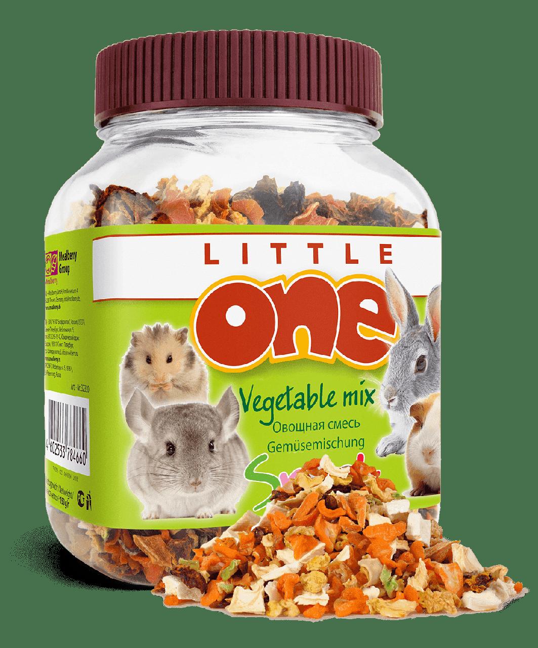 Овощная смесь для всех видов грызунов - 150 гр