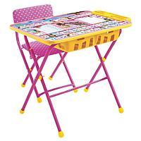 Набор мебели Ника КУ2П Маша и Медведь стол+мягкий стул Азбука 3