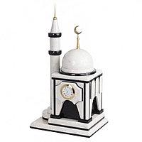 """Подарочные часы """"Мечеть"""" из натурального мрамора"""