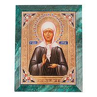 Икона настенная Матрона Московская 14х18х12 см