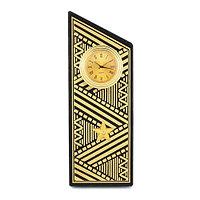 """Часы """"Погон генерал"""" цвет золото камень змеевик"""