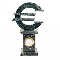"""Часы """"Евро"""" змеевик"""