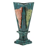"""Подарочная ваза из камня """"Силуэт"""" - красивое украшение интерьера"""
