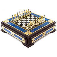 "Шахматы ""Царские"" с лазуритом"
