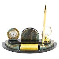 Настольный мини-набор для бумаг офиокальцит
