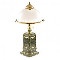 Настольная лампа камень нефрит