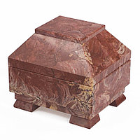 Ларец камень лемезит 10х8,5х8,5 см
