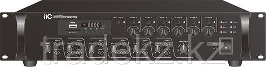ITC Audio TI-1206S, RMS 120Вт, 100В. 6-ти зональный микширующий усилитель с USB/SD+FM и Bluetooth, фото 2