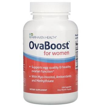 Fairhaven Health, OvaBoost для женщин, 120 капсул