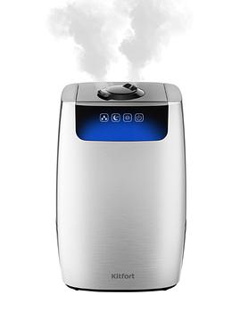 Увлажнитель воздуха Kitfort KT-2803-1, серебристый