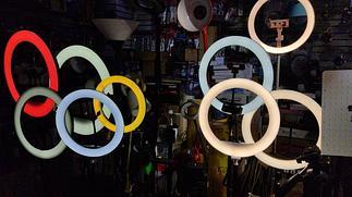 Круглые лампы - лампы TikTok