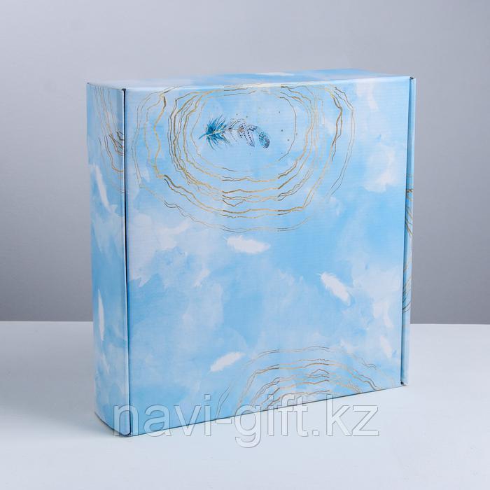 Складная коробка «Вдохновение», 34.3 × 34.9 × 8.5 см - фото 5