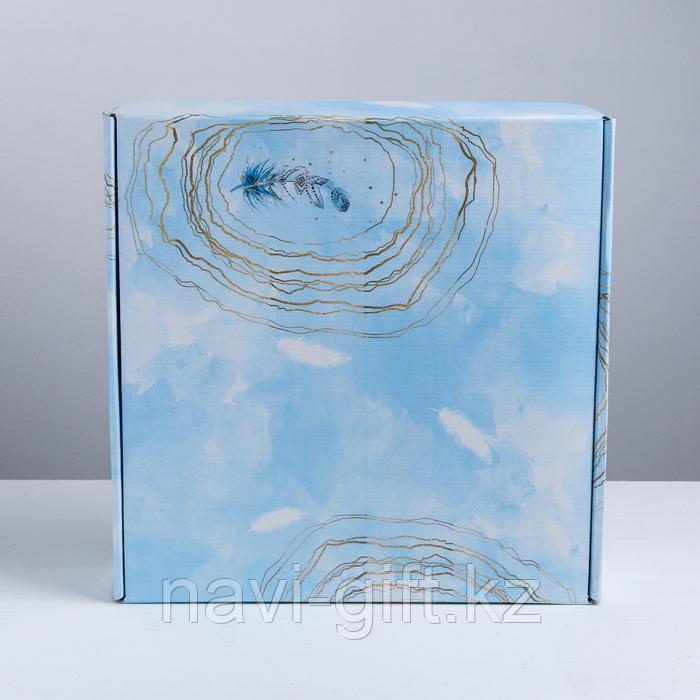 Складная коробка «Вдохновение», 34.3 × 34.9 × 8.5 см - фото 1