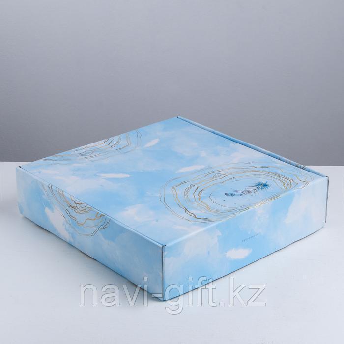 Складная коробка «Вдохновение», 34.3 × 34.9 × 8.5 см - фото 4