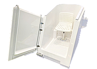 """Ванна медицинская для проведения воздушно-углекислых, воздушно-радоновых лечебных процедур """"ГЕЙЗЕР"""""""