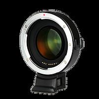 Переходник Viltrox EF-FX2 для объектива Canon EF на байонет Fuji X-mount