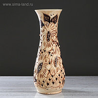 """Ваза напольная """"Осень"""" ажур, 59 см, микс, керамика"""