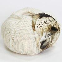 Пряжа Seam Пряжа Seam Alpaca de Italia Цвет.25 Молочный