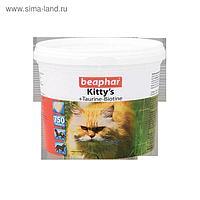 "Витамины Beaphar ""Kitty's"" для кошек, таурин+биотин, 750 шт"