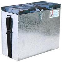 Ящик зимний оцинкованный Helios, 23 л