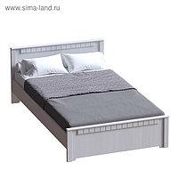 Кровать 1800 Прованс с ортопед.основанием, 1870х2071х850, Бодега белая/Патина премиум
