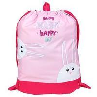 Мешок для обуви, с карманом, 540 х 410 мм, 'Оникс', МО-33-20, 'Счастливые зайцы'