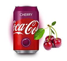 Coca-Cola Cherry Вишня 330ml Европа (24шт-упак)