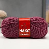 Пряжа 'Nakolen' 49 шерсть, 51 акрил 210м/100г (569 т. пыльная роза)