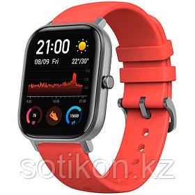 Смарт часы Xiaomi Amazfit GTS красный