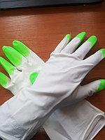 Перчатки хозяйственные гелевые (плотные)