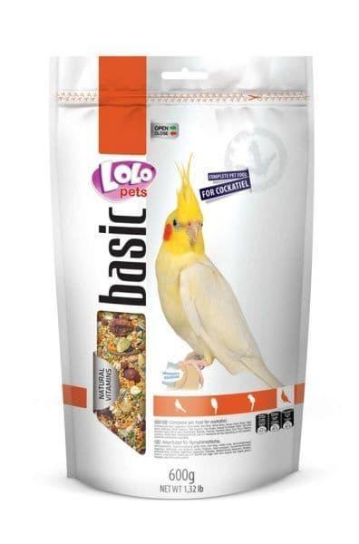Полнорационный корм для средних попугаев, LoLo Pets  - 600 гр