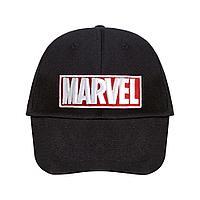 Бейсболка с вышивкой Marvel, черная, фото 1