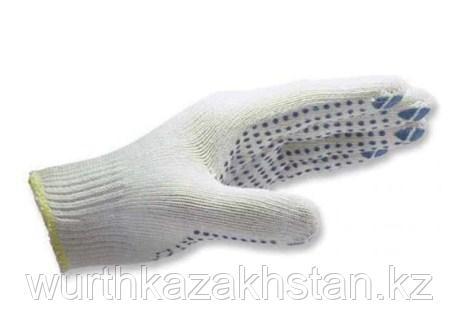 Перчатки трикотажные EXTRA ПВХ