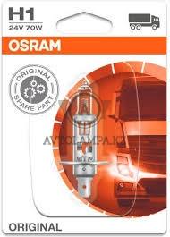 64155-01B Лампа качество (ОЕМ) H1 24V 70W P14.5s ORIGINAL LINE уп.1шт. - фото 1