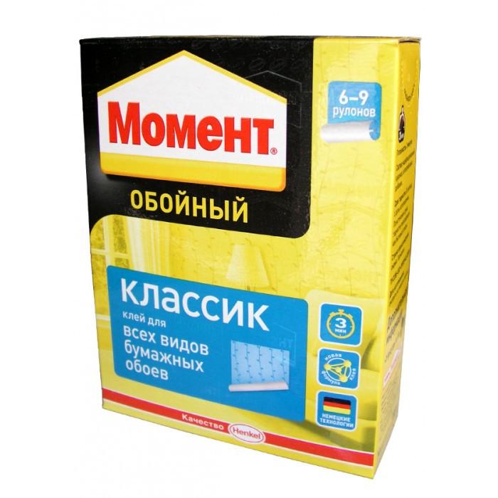 МОМЕНТ Классик Обойный клей для бумажных обоев, 500 г
