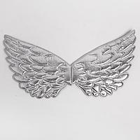 Карнавальные крылья «Ангелочек», для детей, цвет серебристый