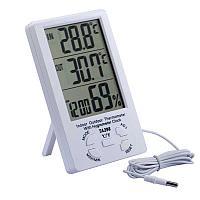 Электронный термометр, гигрометр, часы max-min TA-298