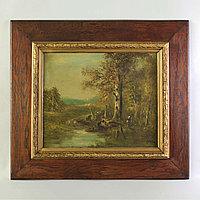 «В лесу» Автор-Pjollet Западная Европа. 19 век.