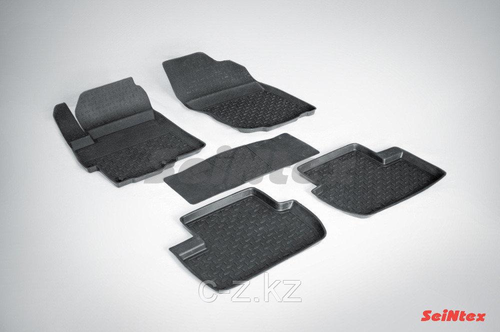 Резиновые коврики с высоким бортом для Mitsubishi Lancer X 2007-2017