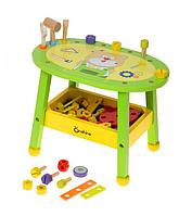 Игровой стол Bear Workbench с набором инструментов и деталей