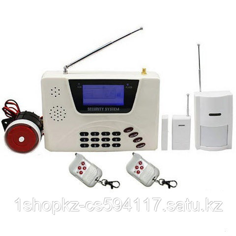 Интеллектуальная охранная GSM система