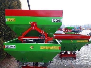 Разбрасыватель минеральных удобрений РУМ 1200 литров Струмик (Strumyk), фото 2