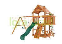 """IgraGrad """"Шато"""" (Дерево) с волновой горкой, веревочной лестницей, песочницей, биноклем., фото 1"""