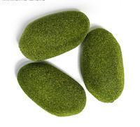 Мох искусственный «Камни», 15 × 9 × 5 см, набор 3 шт.
