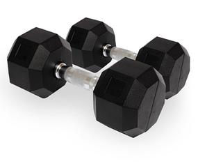 Гантель ПРО гексагон 27,5 кг