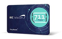 "SIM Thuraya Prepaid ""711"" с балансом 10 unit (10 минут)"