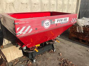 Разбрасыватель удобрений навесной РУМ 800 литров Д-Пол (D-pol), фото 2