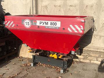 Разбрасыватель удобрений РУМ 800 D-pol Беларусь (двухдисковый), фото 2