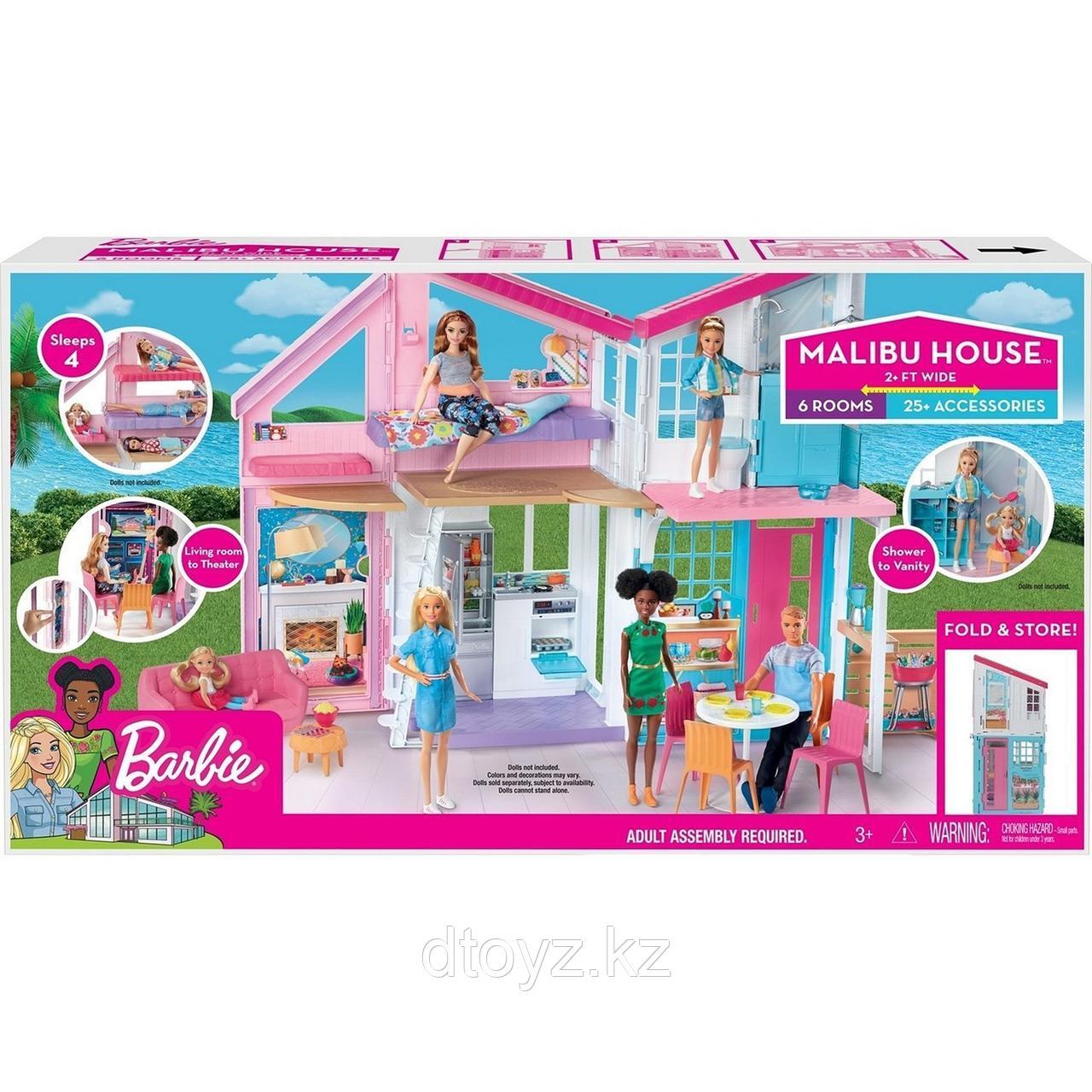 Barbie Дом Малибу FXG57