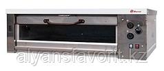 Хлебопекарная ярусная печь ХПЭ-750/1С (нержавеющая облицовка, стеклянные дверки)